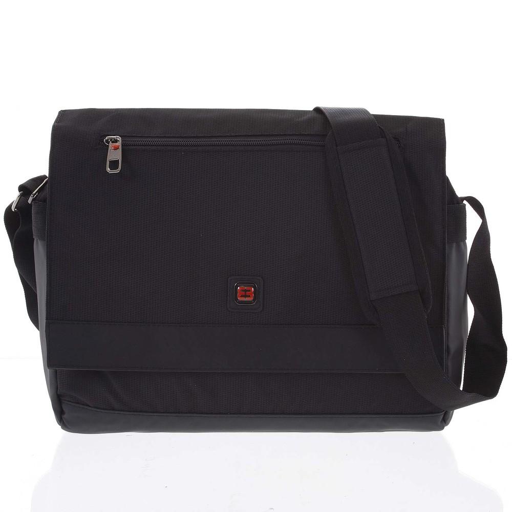 4d63ac3bdd Čierna ľahká taška na notebook - Enrico Benetti Reza - Kabea.cz