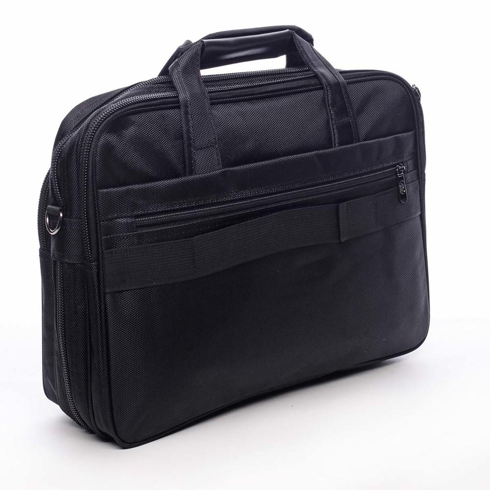 a645e31243 Pánska taška na notebook čierna - Bellugio Zabbi - Kabea.cz