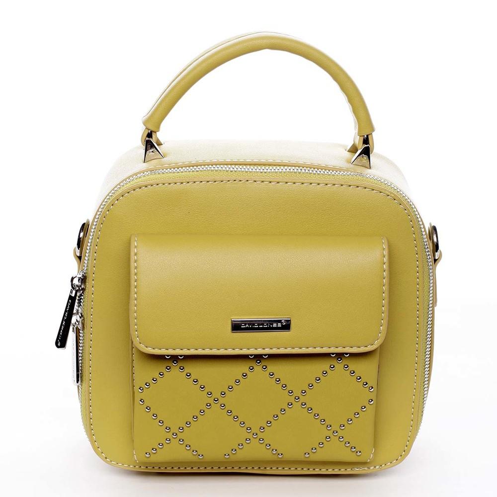 89966910be Luxusná malá dámska kabelka do ruky žltá - David Jones Stela - Kabea.cz