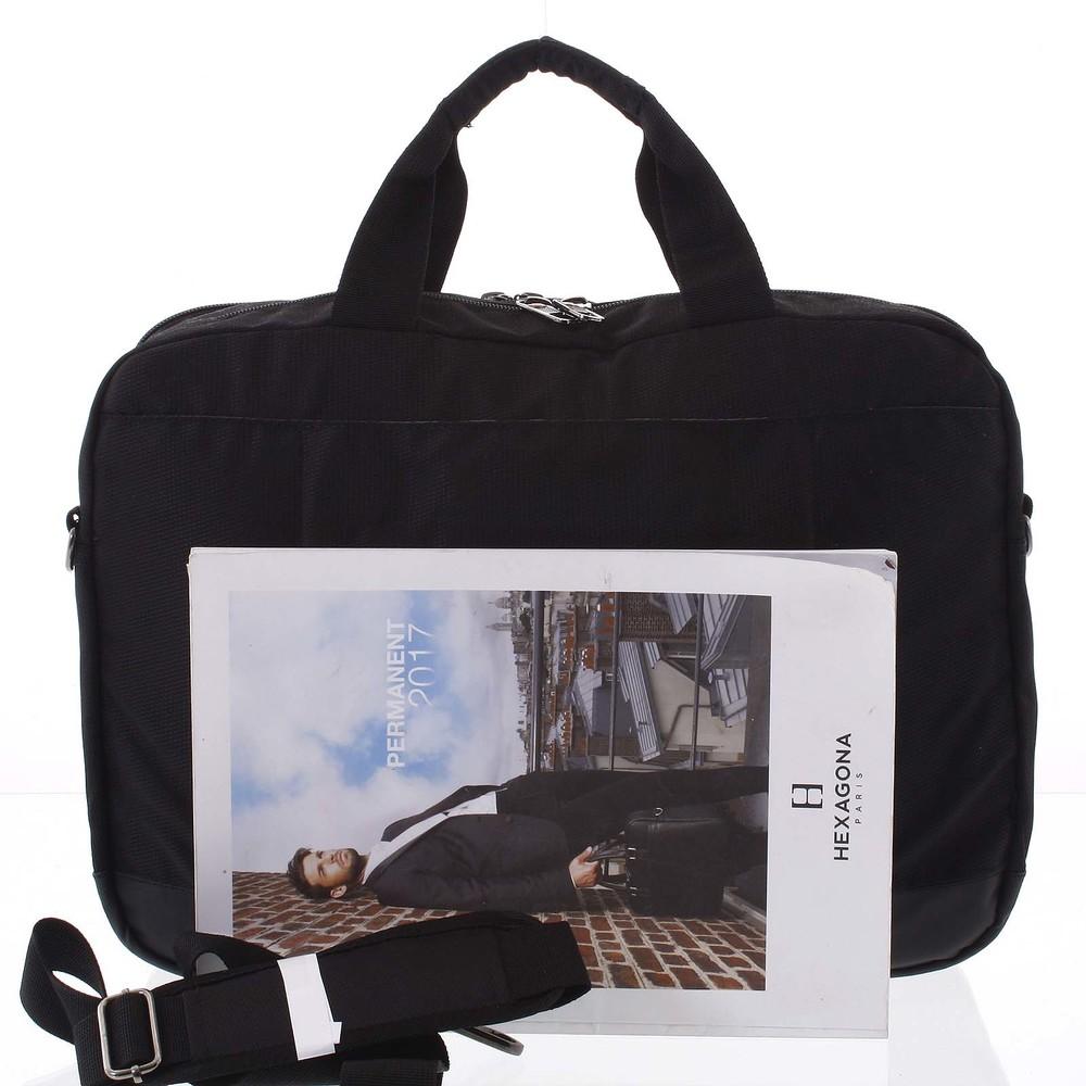 75f5c07ea2 Čierna taška na notebook - Enrico Benetti Sarwar - Kabea.cz