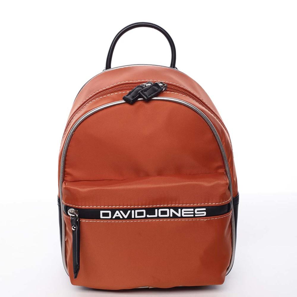 49b35caff Dámsky mestský batoh oranžový - David Jones Alphonse - Kabea.cz