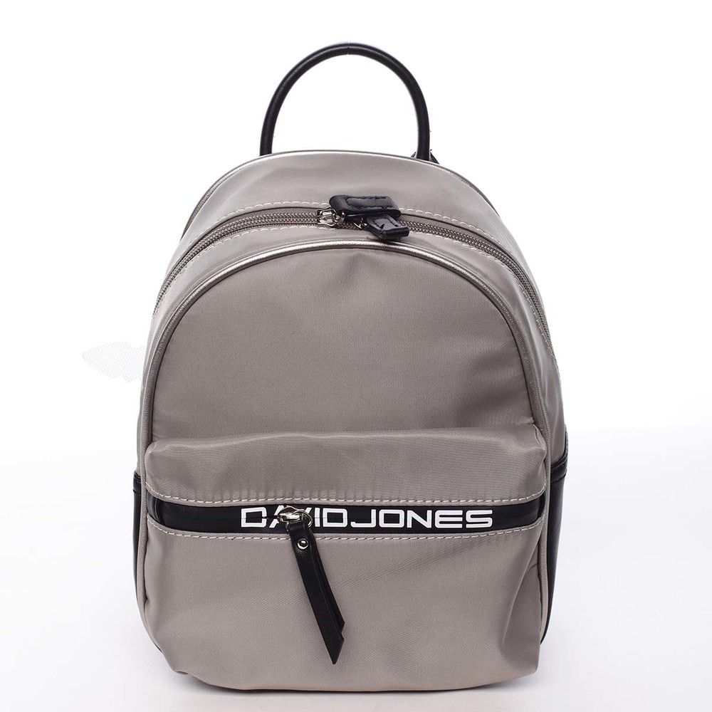 a2b1205cf Dámsky mestský batoh sivý - David Jones Alphonse - Kabea.cz