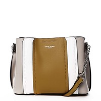 Dámska crossbody kabelka žltá - David Jones Astra